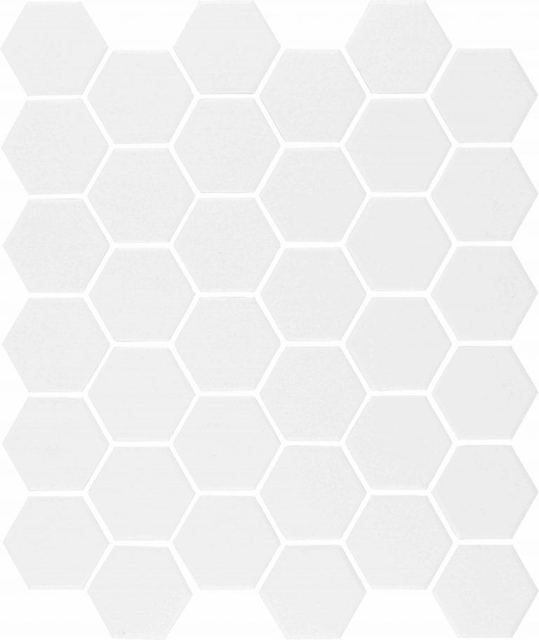 MVG 356 (Hexagon Unglazed Pure White)