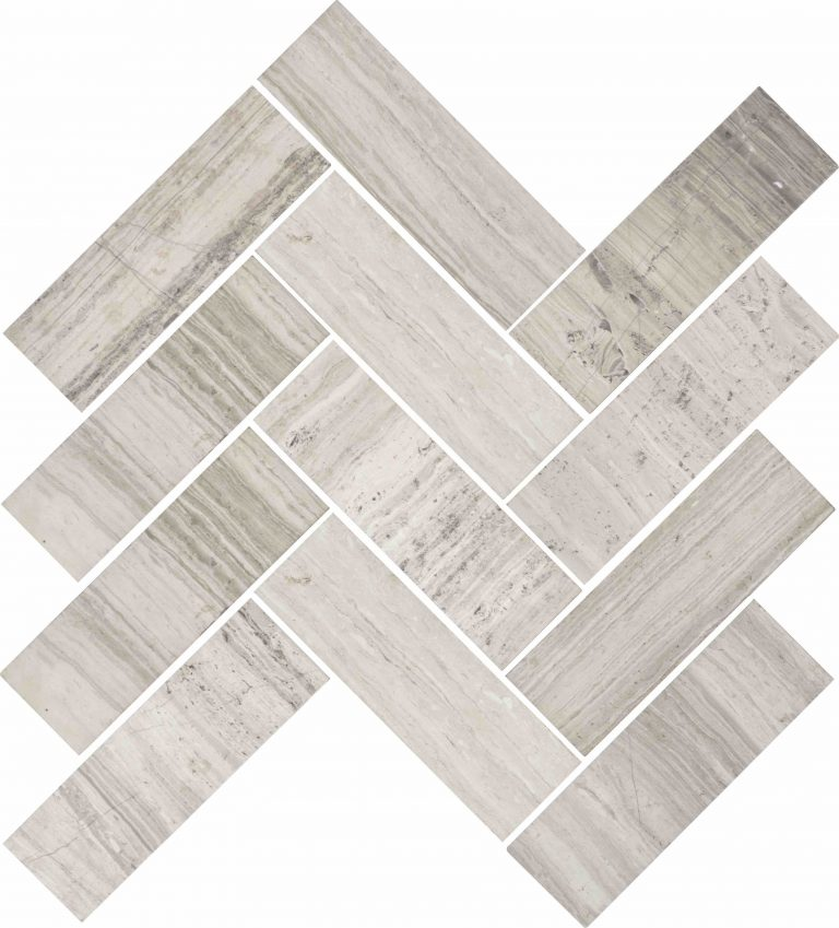 MVG 635 (Venice Wood White Herringbone)